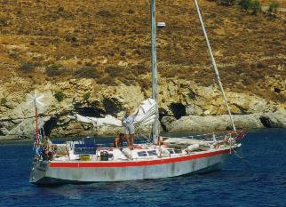 Our sailing yacht MOMO